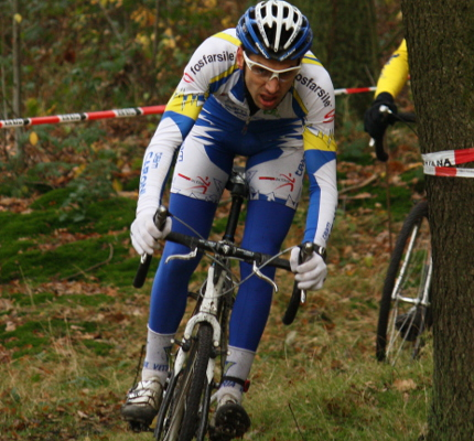 Warm-up and cool-down for cyclo-cross racers